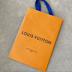 Authentic Louis Vuitton small shopping bag